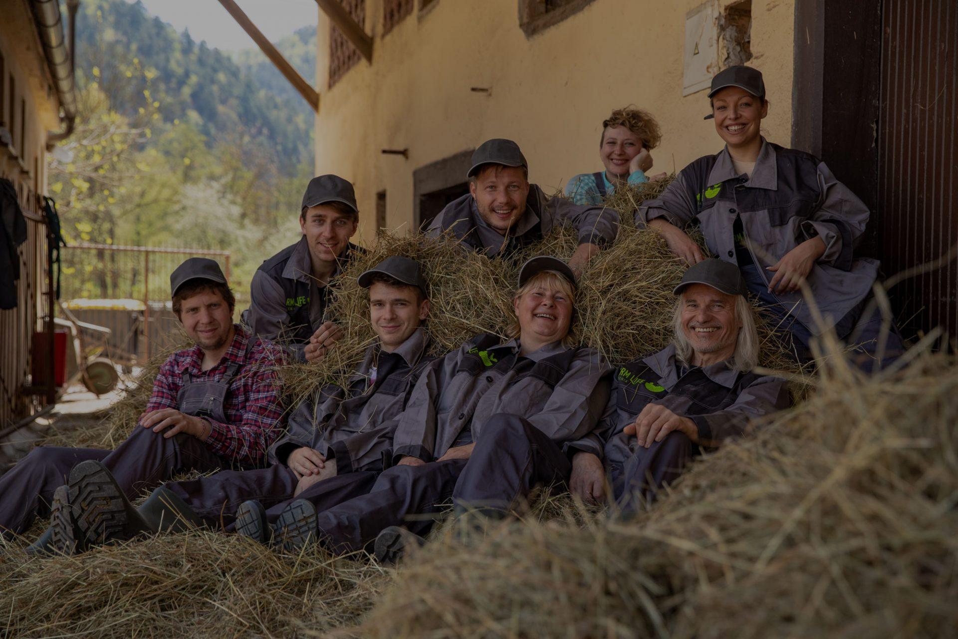 Življenje na kmetiji